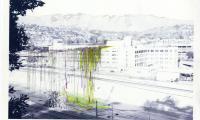 Lauren Bon_Confluence-Bridge for Birds and Bees Spanning Old Prison to Park_2007.tif